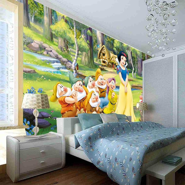 Menyesuaikan berbagai ukuran foto mural papel de parede for Mural kartun
