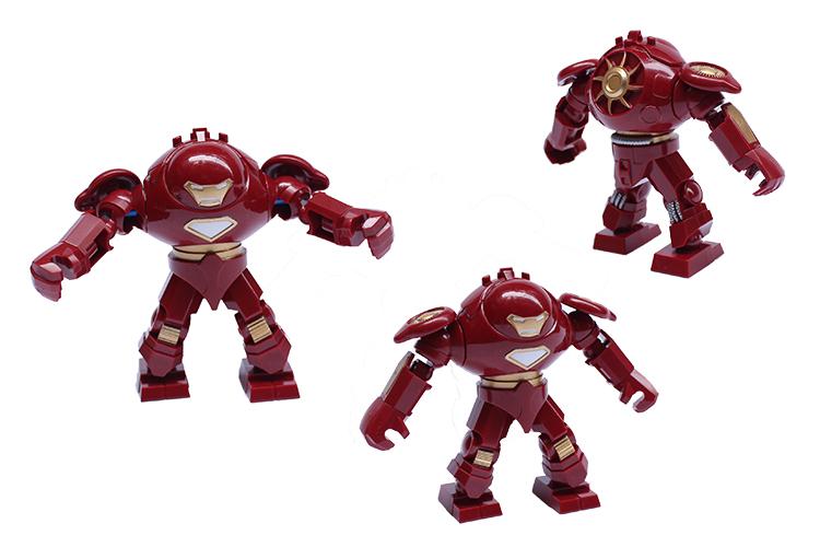 Big Iron Man vs Hulk Hero Big Iron Man Hulk