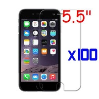 "100pcs/lot LCD HD 5.5"" Screen Protector Film Cleaning Cloth For iPhone 6 PLUS"
