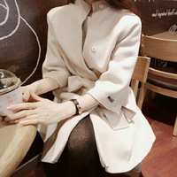 Free shipping New 2014 wool coat women's Trench autumn winter wool coat with belt fashion wool overcoat