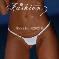 2015 Women's Metal Ring Cotton Micro Bikini Thong mini G-string Swimwear ladies Sexy T-Back Panties Brief Underwearar Lingerie