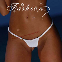 2014 Women lady Metal Ring Cotton Micro Bikini Thong Sexy Hipster mini G-string T-Back Panties Brief Underwear Lingerie Swimwear