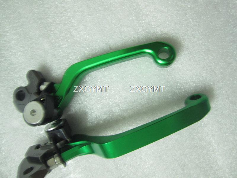 Offroad Motorcycle Hand Lever fit Kawasaki Kx 125 06 Kx250 2005 2006 2007 2008(China (Mainland))