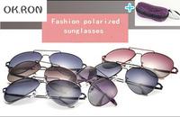 2014 fashion Brand Driving mirror Polarized sunglasses women aluminum alloy driver fishing glasses free shipping