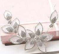 Adjustable Bridal Rhinestone Hair Ornament Crystal Wedding Headband For Bride Hair Jewelry Hair Accessories 2014 New WIGO0342