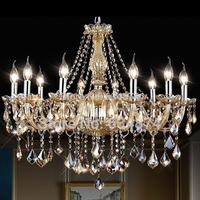 Modern crystal chandelier Crystal light lighting Living room bedroom lamp Free shipping