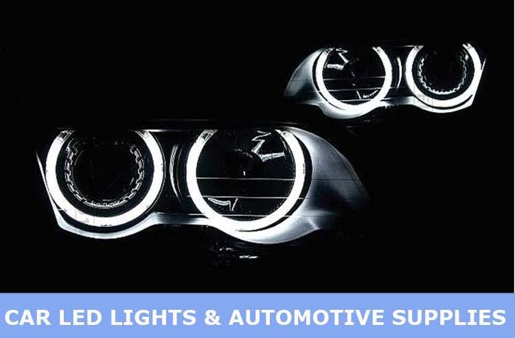 1 sets CCFL Angel eyes for E39 E30 E34 E32 127.5mm car headlight angel eyes ccfl rings free shipping(China (Mainland))