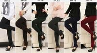 Autumn Winter Women Capris 2014 New Fashion Fleece Thickening Ninth PantsAdd wool warm pants