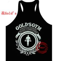 Mens Bodybuilding Cotton Vest Power  Golds Gym Tank top T Shirt gasp Fitness Sport Plus Large Size Men's SPORT VEST