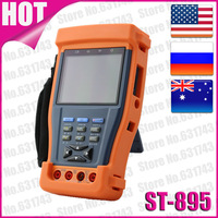 """3.5"""" TFT-LCD Security CCTV Tester With Optical Power Meter,Digital Multimeter, Video  Test,PTZ Controller,UTP Cable Test  ST-895"""