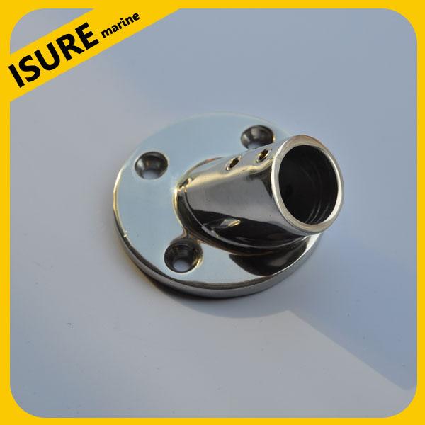 "316 Stainless Steel Marine Boat hardware 60 degree 7/8"" round base(China (Mainland))"