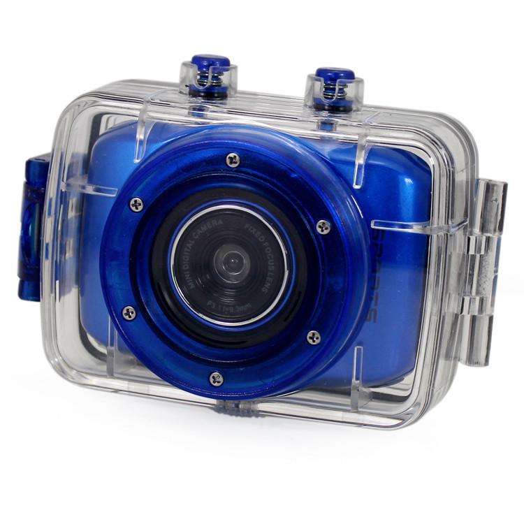 Sport Camera DVR Waterproof HD Camera H.264 video code built in 16G SD Card(China (Mainland))