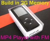 2014 new  portable mp4/mp3 player slim  music player 1.8'' TFT screen FM radio ,Built-in memory card,support headphones output