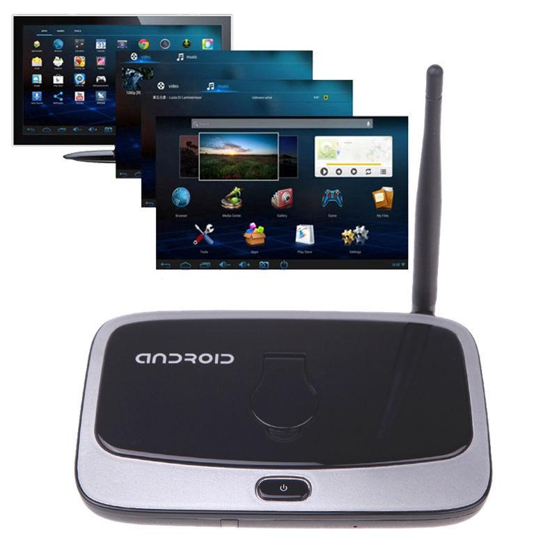 Bluetooth Android TV Box Quad core 2G Rom RK3188 Q7S Media Player 1080P 8G play store download free arabic iptv cs918s tronsmart(China (Mainland))