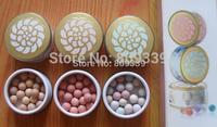 6 PCS Free Shipping NEW MAKEUP meteorite Poudre pour le visage Face powder ball