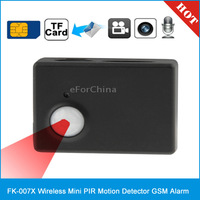 Wireless Mini PIR MP Infrared Sensor Motion Detector GSM Alarm MMS Monitor (FK-007X)