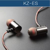 Original KZ-ES copper forging professional-grade headphones fever and heavy bass music WIRE earphones
