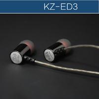 Original KZ  ED3 acme silver grade HIFI fever in-ear headphones The transient heavy low quality earbuds virulent vocals earphone