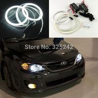 Excellent Quality Ultrabright headlight illumination CCFL Angel Eyes kit For Subaru Impreza WRX STI 2007-2011 angel eyes kit