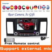 2 Din Automotivo Car DVD GPS For Mitsubishi Lancer 2008-2012+GPS Navigation+Radio+Audio+Stereo+MP3+TV+central multimidia Styling