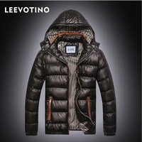 2014  High Quality winter Light duck fur Down Jackets Man's fur  Down with hoody  warm Coat