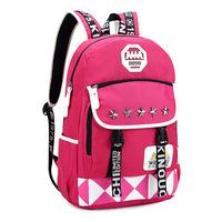 Girl casual  backpack cute student female girl backpacks schoolbag pretty lovely rucksack  boy girl bags