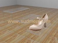 acrylic shoe display 250x180x110mm