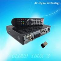 media player cloud ibox 3 satellite tv receiver cccam MPEG4 HD receiver