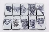 2014 New Elephant and the Tribal Bubble Gum Hard Cover Case For iPhone6 4.7' Protective Back Case Cover For Apple6 Free Shipping