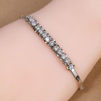 B-0003,Bracelets for women from india silver plated pulseira bracelets bangles fashion jewelry loom bands one direction