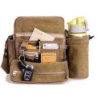 2014 hot-selling men's shoulder Messenger bag casual canvas bags