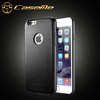 """New Arrival CaseMe Slim Soft leather case for iPhone 6 Plus 5.5"""" 1.0 mm thickness ultral thin back cover for iPhone6 +"""