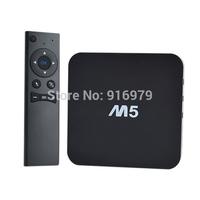 MXQ TV BOX with 2.4G remote Amlogic S805 Quad Core Android 4.4 Kitkat 4K 1GB 8GB XBMC WIFI Airplay Miracast 3D M5 smart tv box