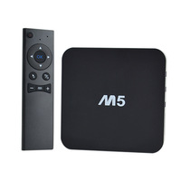MXQ TV BOX with 2.4G remote Amlogic S805 Quad Core Android 4.4 Kitkat 4K 1GB 8GB XBMC WIFI Airplay Miracast 3D M5 smart tv box