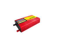 modified Sine Wave Power Inverters off grid free shiping  DC 12v  to AC 110V 220v 230V car adapter converters 1200W peaking 600w