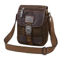 Free Shipping Canvas Messenger Bags Men Casual Travel Sports Waterproof Shoulder Book Bag Retro Handbags HENGLI 2014 Latest