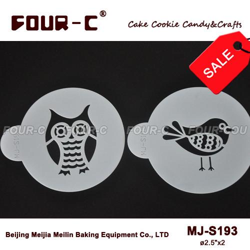 Mini Insect Set stencil template,new style cake design stencil,cake border kitchen accessories decoration(China (Mainland))