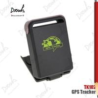 Quadband Real Time GSM GPRS Mini GPS Tracker TK102 Car Vehicle Tracker SOS Alarm System Device TK102B Full Set 50Pcs/Lot