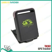 Quadband Real Time GSM GPRS Mini Global GPS Tracker TK102 Car Vehicle Tracker TK102B Full Set 30Pcs/Lot DHL Free Shipping
