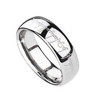High Quality Stainless Steel Women Men Ring Punk Jewelry Free Shipping (Size 6,7,8,9,10,11)