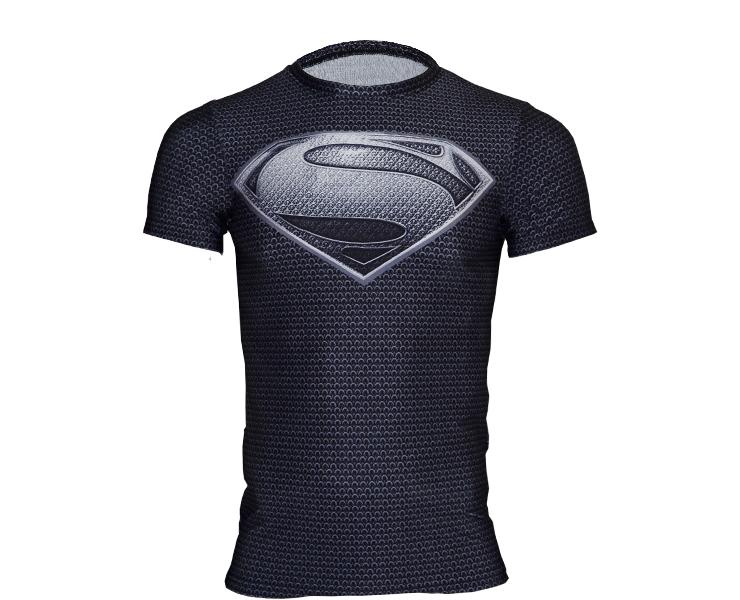 American brand 2014 Fashion Top sale Men summer T-shirt Women brand tees tops Short Sleeve Superman t shirts Free shipping(China (Mainland))