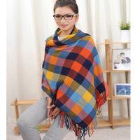 2014 autumn new Korean winter scarf shawl Korea cashmere scarf plaid scarf Ms. wholesale 200*60cm