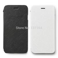 Original Zenus Minimal Diary Series Premium Genuine Leather Wallet Cases for Apple iPhone 6 (4.7)