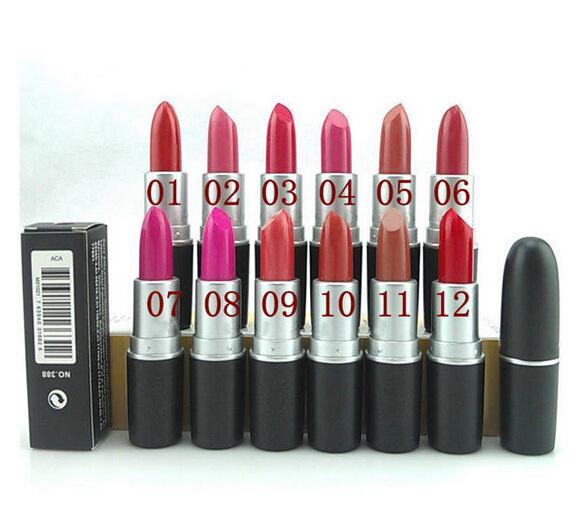 Popular Women's lip gloss Waterproof Beauty Makeup LipStick Lip Pencil Lip stick Lipgloss Lip (12 Colors choose) free shipping(China (Mainland))