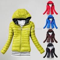 2014 new fashion women short down jacket winter jacket design women winter outerwear clothing color women WF-654