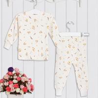 Top Quality Warm Thicken Cotton Toddlers Thermal Cloth Children Baby Boys Girls Kids Pajamas Sleep Night Wear Suit Set Underwear