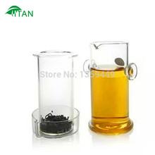 Free shipping Shuang er easy teapot 190ml heat resistant glass office teapot coffeepot mug teakettle cup