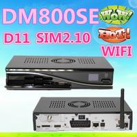 3pcs DM800se Dm800hd se Satellite Receiver 300mbps wifi Inside SIM2.10 BCM4505 400Mhz Tuner DM800 se Wifi dm 800hd Free Shipping