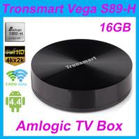 Tronsmart Vega S89-H Android TV Box Amlogic S802-H Quad Core 2GHz 2.4G/5G Dual Band WiFi 2G/16G Mali450 GPU 4K*2K HDMI Receiver