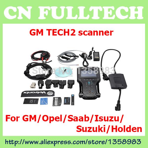 2014 GM TECH2 support 6 software(GM,OPEL,SAAB ISUZU,SUZUKI HOLDEN) Full set diagnostic tool Vetronix Tech2 with candi interface(China (Mainland))